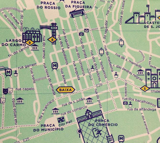 rua dos douradores lisboa mapa Lisbon Sustainable Tourism rua dos douradores lisboa mapa